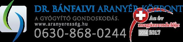 Dr. Bánfalvi Aranyér Központ Budapest